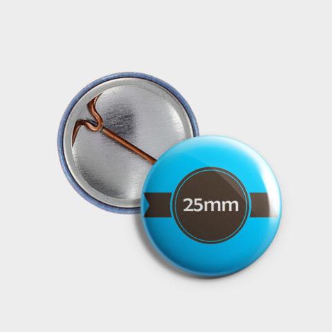 25mm Buttons bestellen