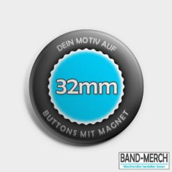 32mm Buttons mit Magnet vorne