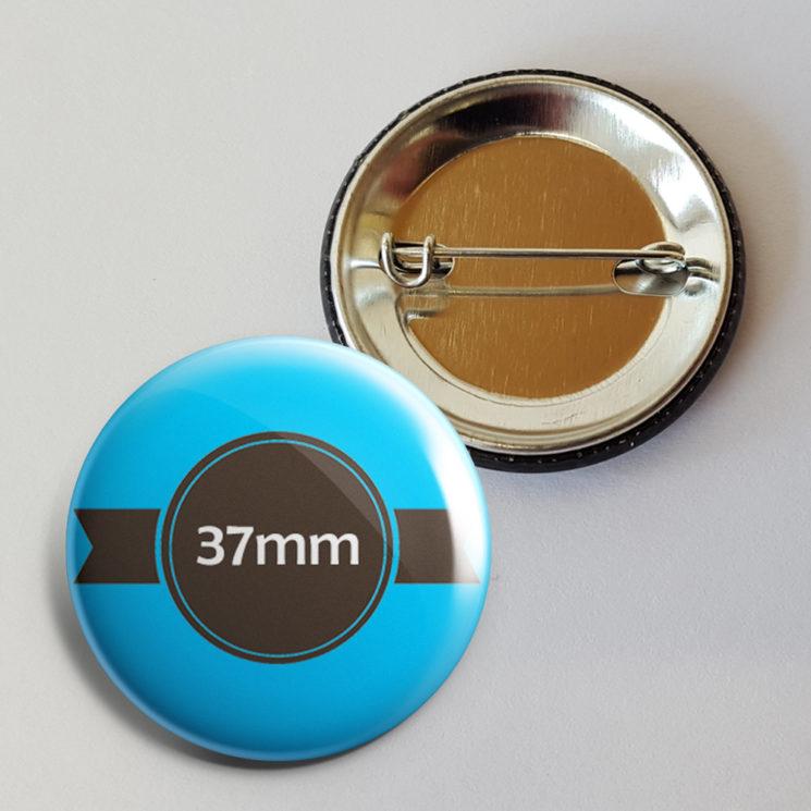 37mm buttons bestellen