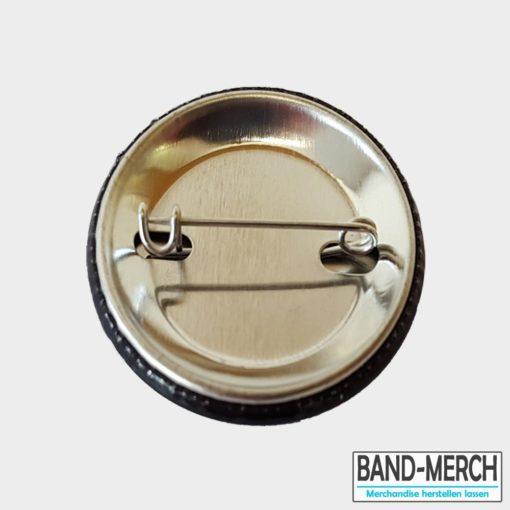 37mm buttons mit Nadel hinten