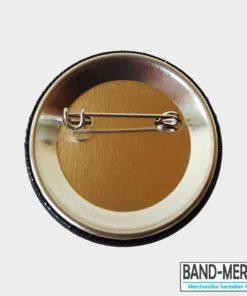 44mm Buttons mit Nadel hinten