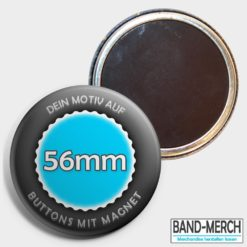 56mm Buttons mit Magnet