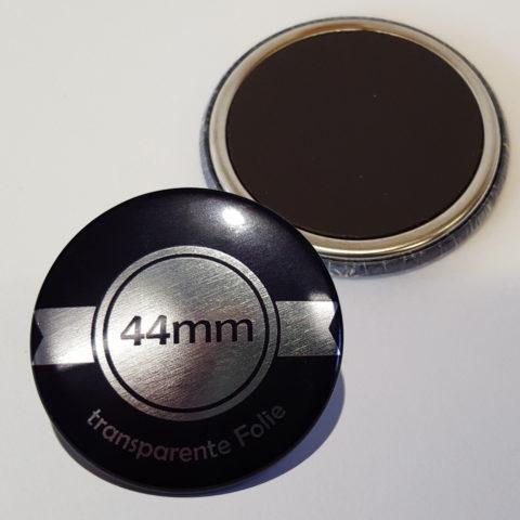 44mm Silber Buttons mit Magnet bestellen
