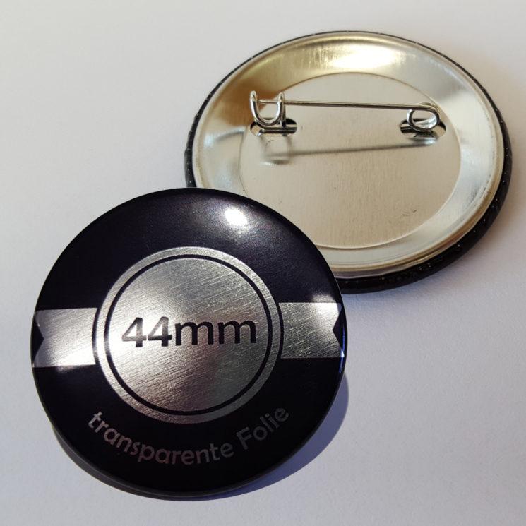 44mm silber buttons bestellen