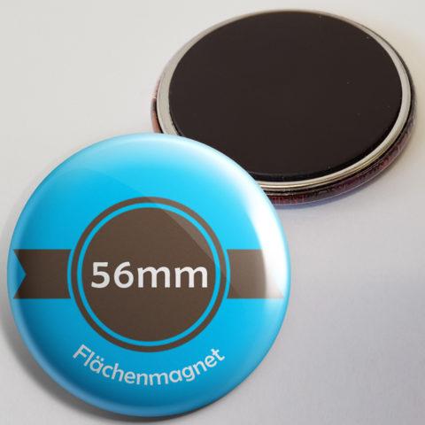56mm Buttons als Kühlschrankmagnet