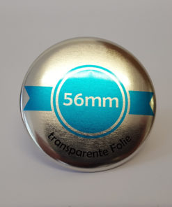 56mm silber buttons