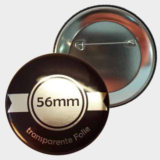 56mm silber buttons drucken
