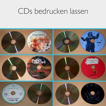 CD bedrucken im BandShop