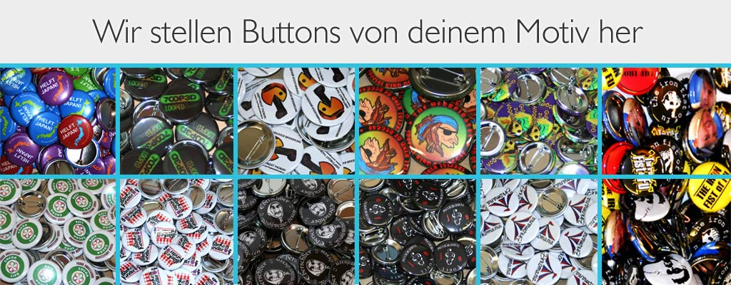 Buttons bestellen bei band-merch.de