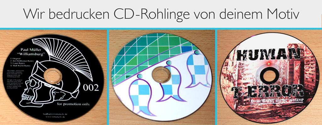 CD Direktdruck bei band-merch.de