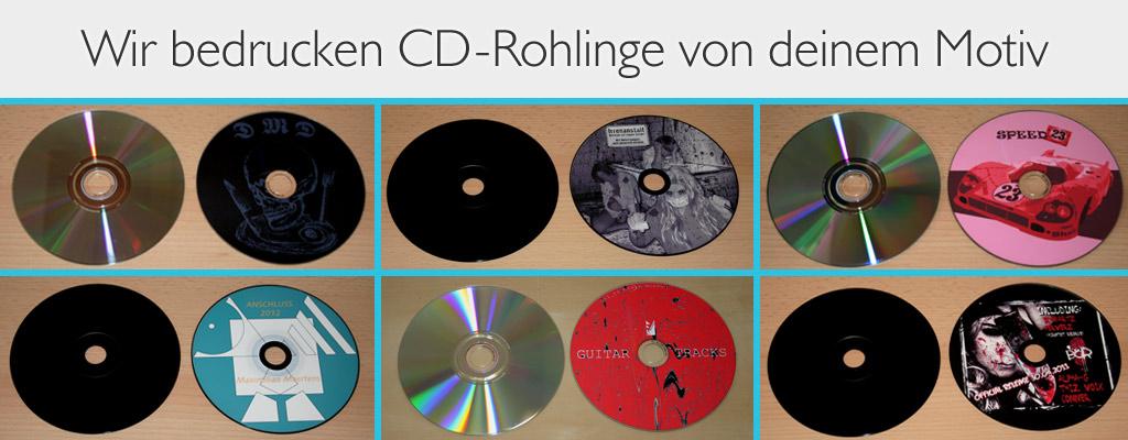 CDs bedrucken lassen bei band-merch.de