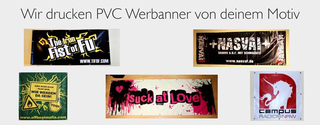 PVC Banner drucken lassen