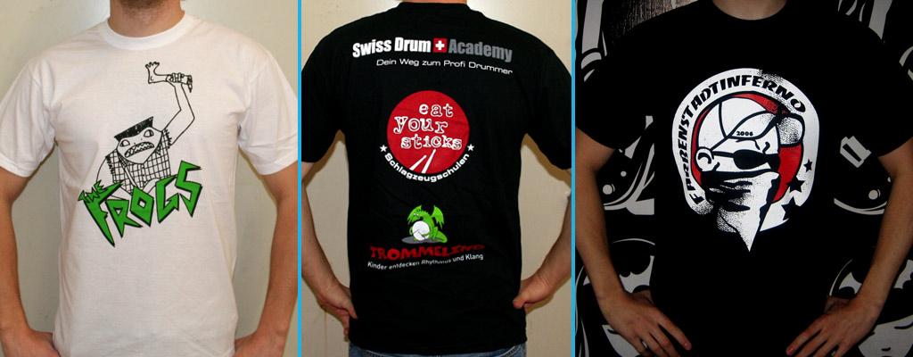 T-Shirt Druck bei band-merch.de
